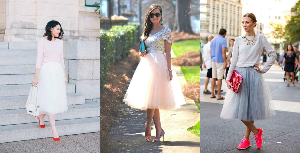 53916084cb7e0de Как носить юбку-пачку?