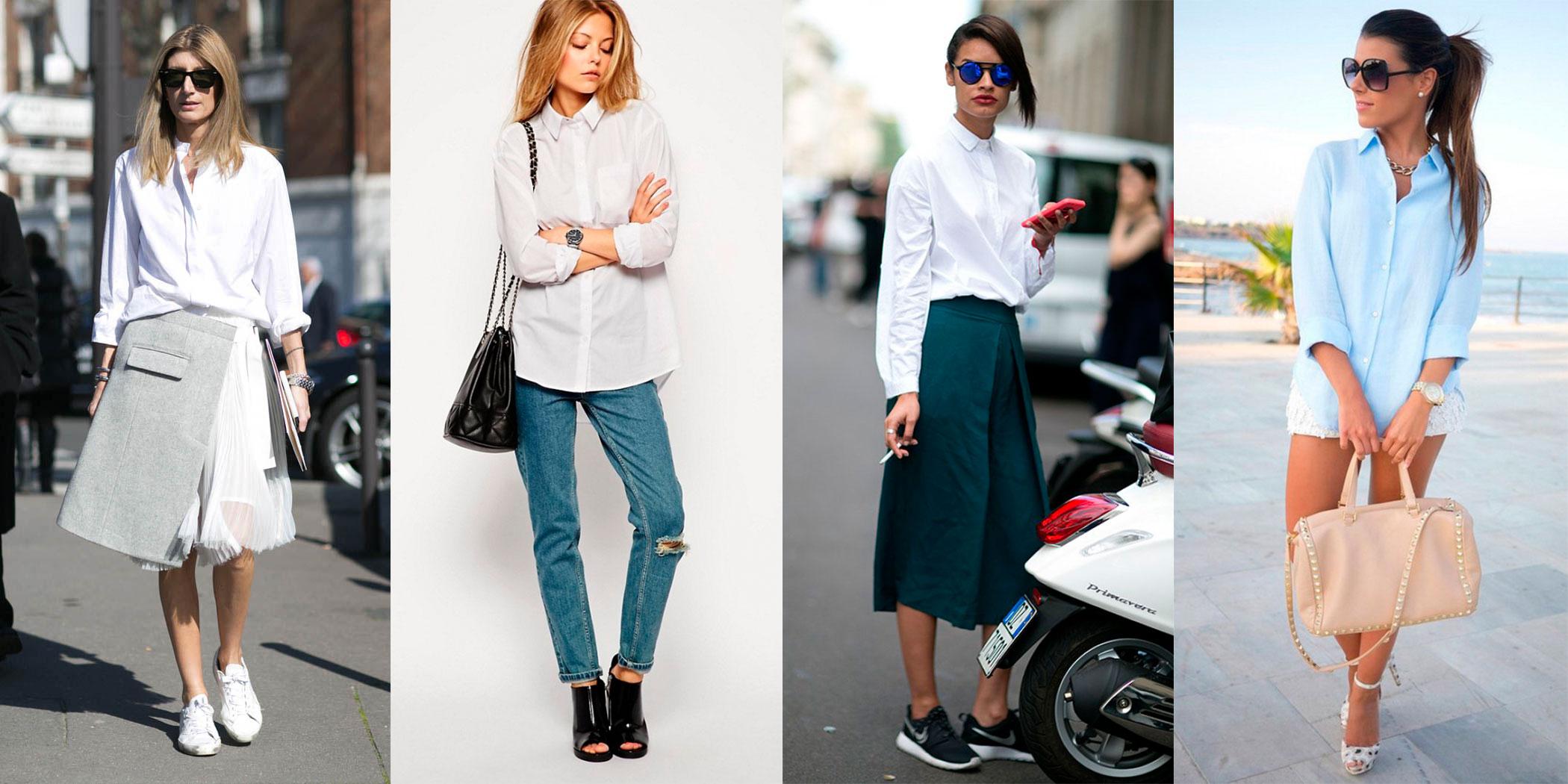 1e5164c781b Но если тогда мужская рубашка и джинсы на женщине означали протест по  отношению к женской роли в ...