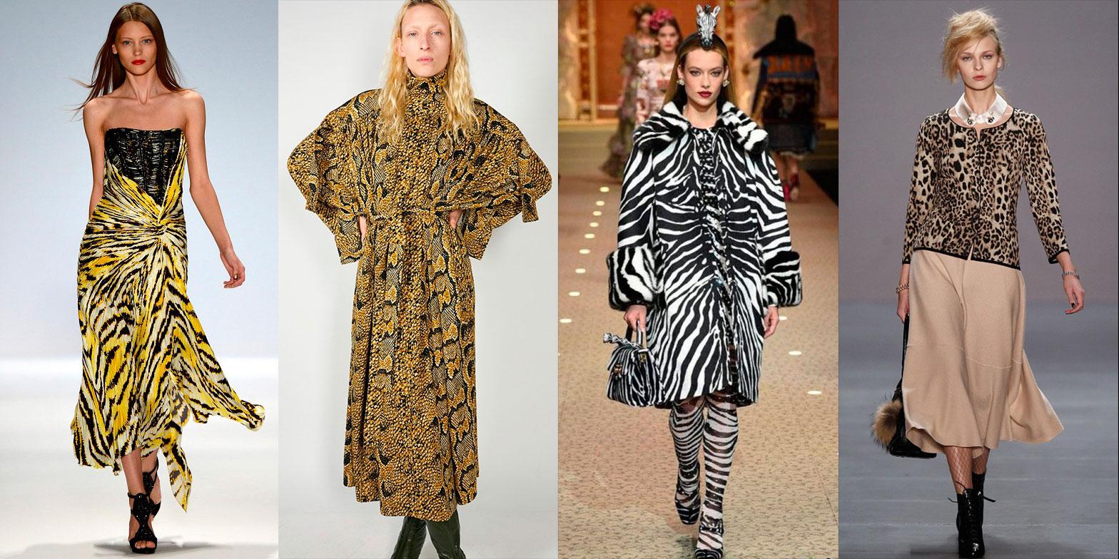 Мода на животный принт 2019